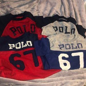 Four Boys Polo T-shirt's
